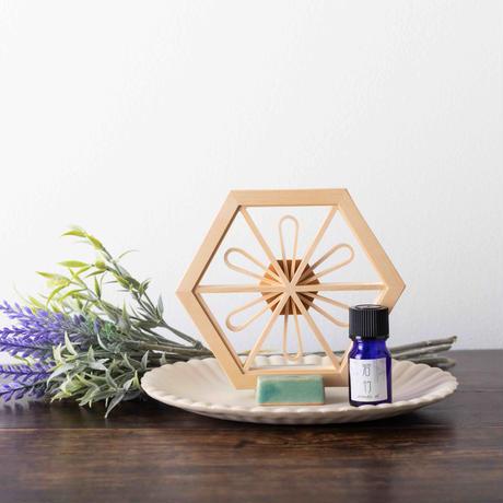Aroma Wood  -花柄  Flower-