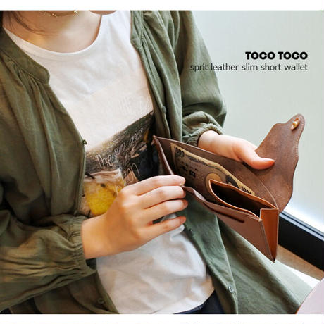 tocotoco ウェル 2つ折り財布