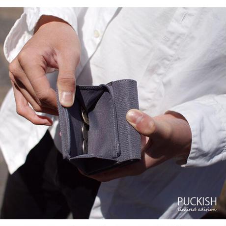 Puckish シック 3つ折り財布