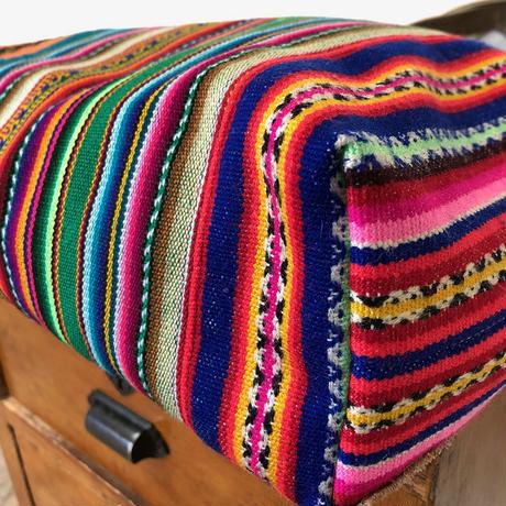 312|中南米の織物&ミャンマー・ナガ族の手刺繍 (A)
