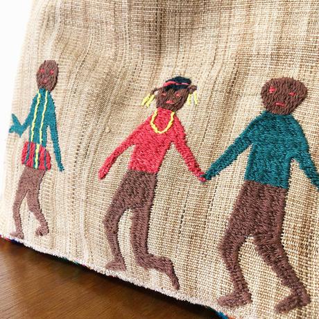 313 中南米の織物&ミャンマー・ナガ族の手刺繍 (B)