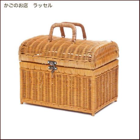 型番688(688) ピクニックかごバスケット 運動会ランチボックス お弁当入れ 【かごのお店ラッセル  STORES】