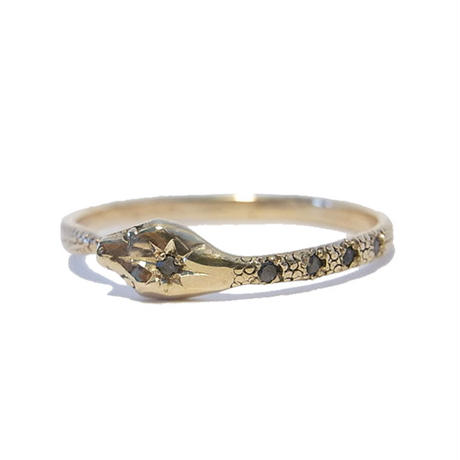 Halo Serpent Ring  for Men