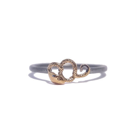 combination serpent ring