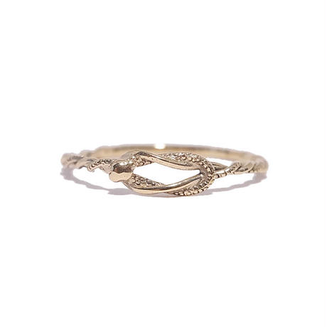 tiny serpent ring