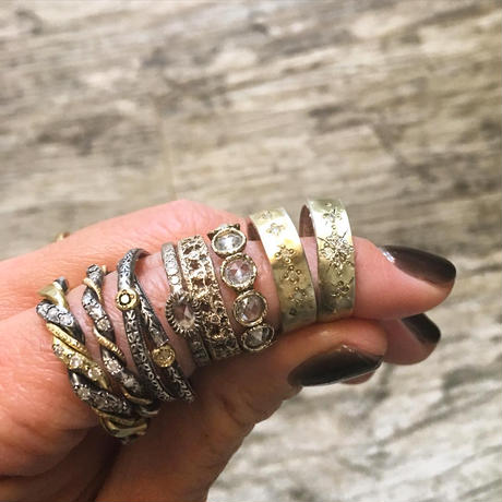 TWISTED WABISABI RING