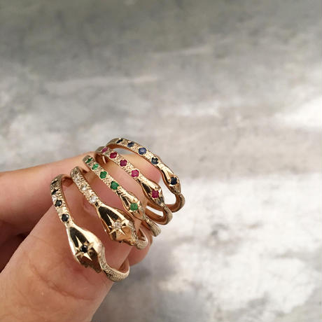 Halo Serpent Ring
