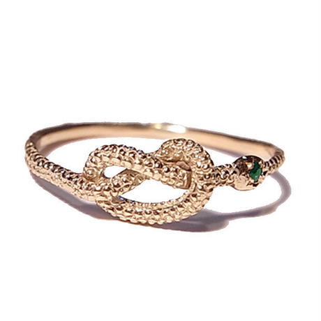 serpent knot ring
