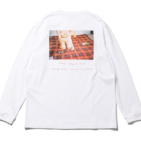 KEEP CALM LS T-SHIRTS (RUTSUBO×YURI HANAMORI NUIDEMITA )
