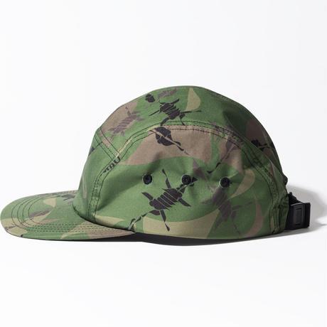 MHAK CAMO 5PANEL CAP
