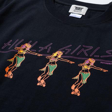 HULA GIRL T-SHIRTS(RUTSUBO×ALLRAID)