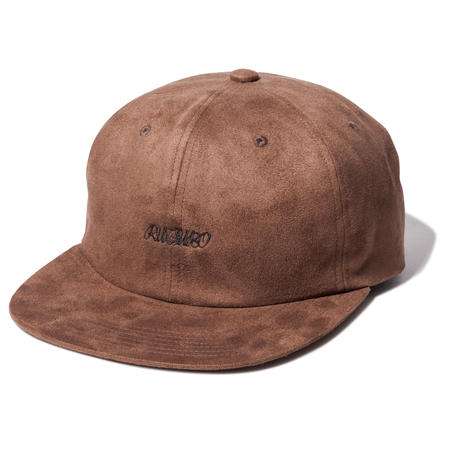 YARN DYED SUEDE 6 PANEL CAP