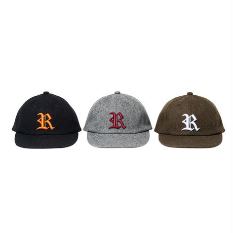 WOOL OLD R 6 PANEL CAP