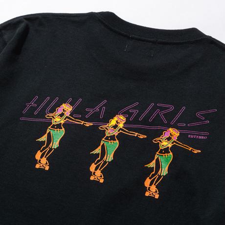 HULA GIRL  LS T-SHIRTS(RUTSUBO×ALLRAID)