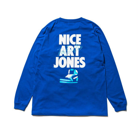 NICE ART JONES LS T-SHIRTS(RUTSUBO×ALLRAID)