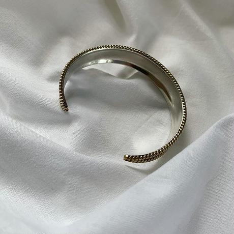 vintage Mexico silver design bangle 1