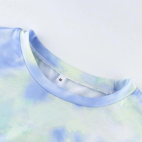 【即納あり】RUVELA select★ タイダイハーフレギンス&Tシャツセット
