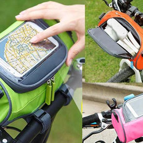 2WAY自転車フロントバッグ