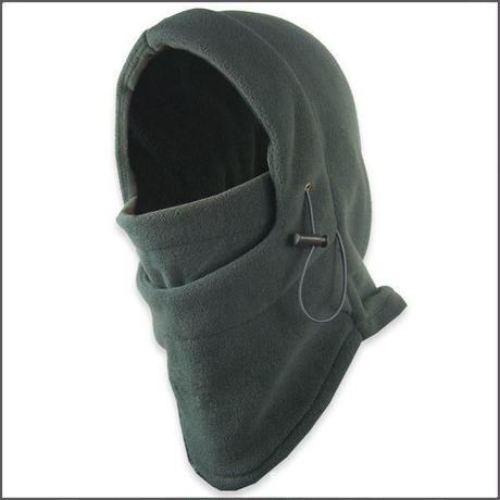 フリース素材フェイスマスク