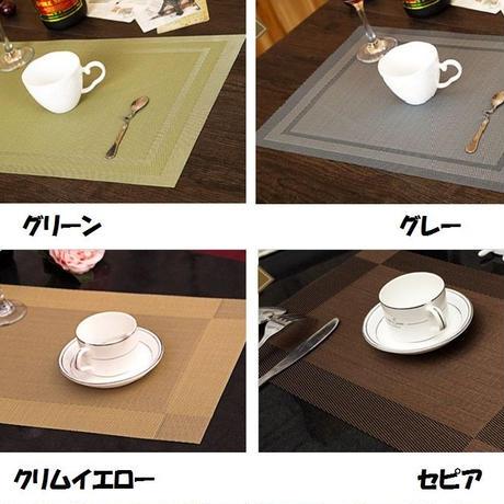 シンプルデザインランチョンマット