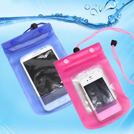 海、プール、レジャーに最適 防水ケース2個セット