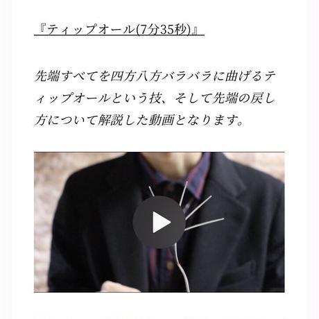 【動画で学べる】フォーク曲げレクチャー動画(計8本.40分)