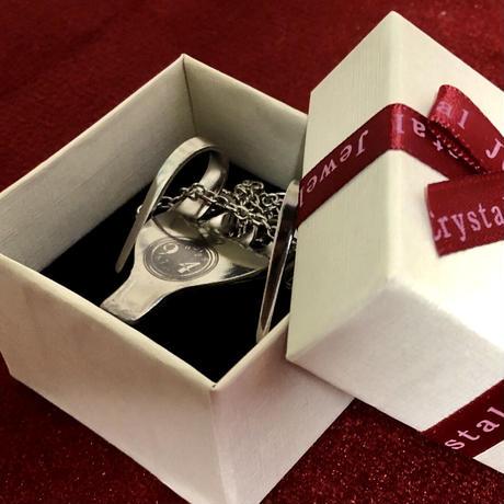 【ロゴ刻印入り】Fork Necklace(ハート型ネックレス)
