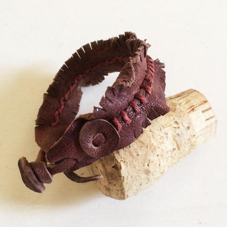 Leather Fringe Bracelet
