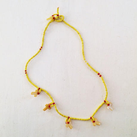 Yellow Cross Necklace