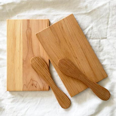 Svensk Hemslöjd_ Butter Knife and Plate set