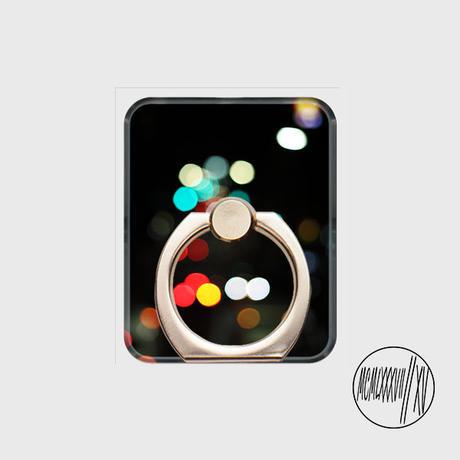 「MCMLXXXVIIIIXV」Smartphone ring「 #002 light 」 GOLD