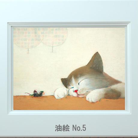 F4-072019 子猫と女の子(蟻さん)