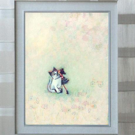 F3-051621 可愛い子猫と女の子