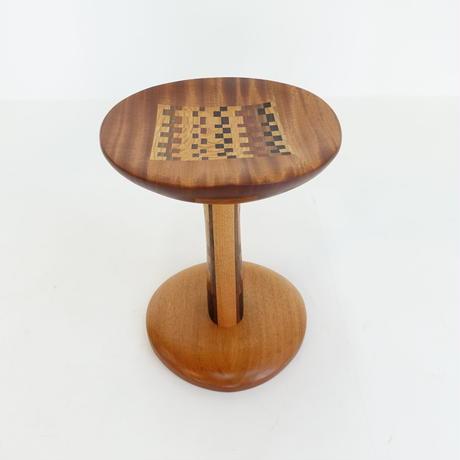 モザイク椅子
