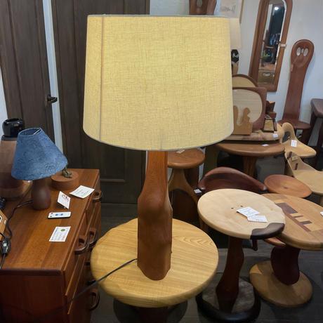 彫刻ランプ