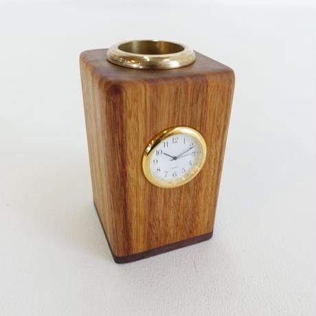 一輪挿し時計