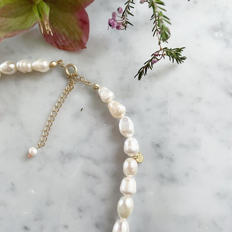 【LIBERTY】_Candy pearls: Simple Necklace_Large210106