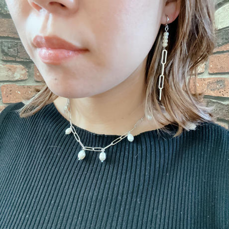 【LIBERTY】_Candy pearls :Gift 単品 ピアス / イヤリング _Silver