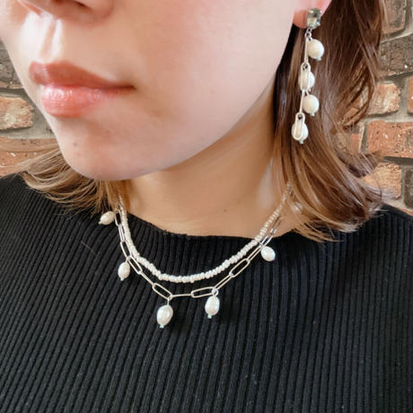 【LIBERTY】_Candy pearls: Simple Necklace_baby210105