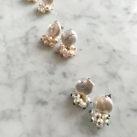 【LIBERTY】_Candy pearls :Dancing_Short ピアス / イヤリング