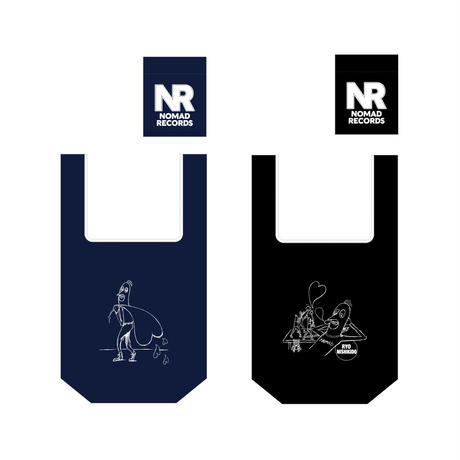 エコバッグ(NAVY・BLACK)/FAN MEETING 2020