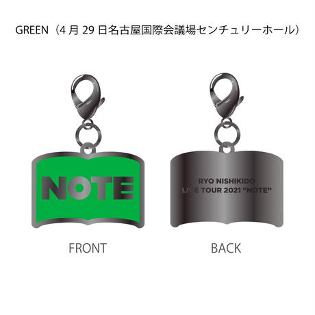 """限定チャーム/LIVE TOUR 2021 """"Note""""【4月15〜5月8日公演分】"""
