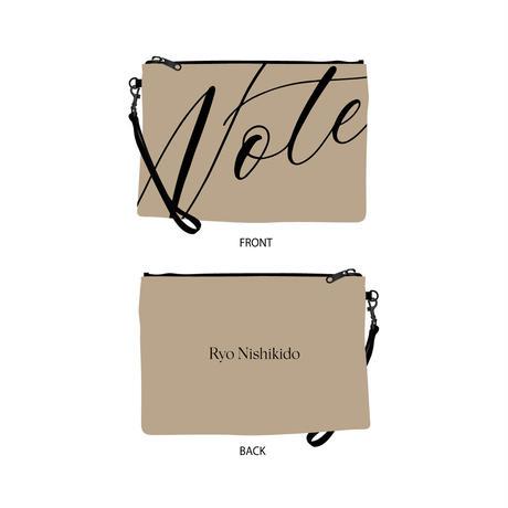 """クラッチバッグ(ブラック・ベージュ)/LIVE 2021 """"Note"""""""