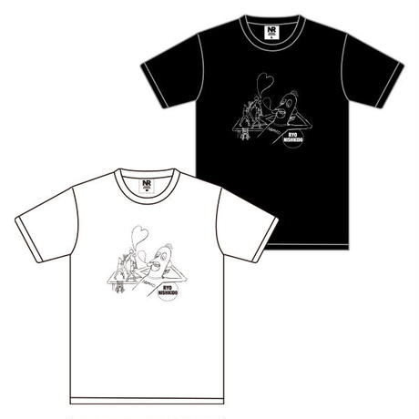 Tシャツ(WHITE・BLACK)/FAN MEETING 2020