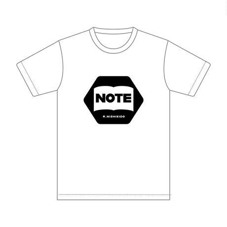 """Tシャツ(ホワイト・ブラック)/LIVE 2021 """"Note"""""""