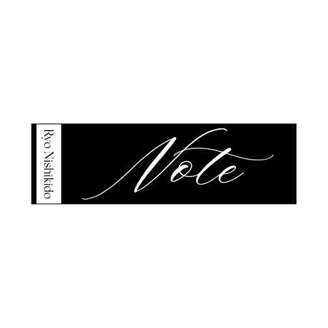 """ジャガードタオル( ブラック・ベージュ)/LIVE 2021 """"Note"""""""