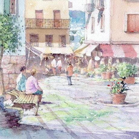 マルチェージネの休日(北イタリア)