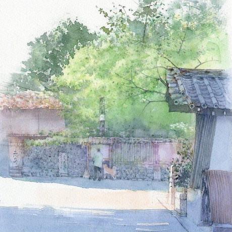 朝の散歩道(京都東山区、高台寺付近)