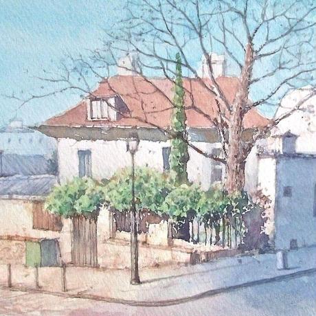 冬晴れのモンマルトル(パリ)