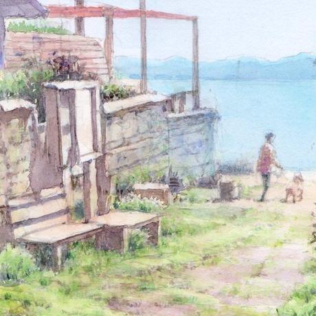 穏やかな海風の日に(鎌倉)